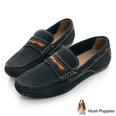 Hush Puppies RAYEN 超軟Q百搭休閒鞋-深藍色