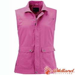 Wildland 荒野 W1707-09桃紅 中性 透氣抗UV休閒背心 UPF50