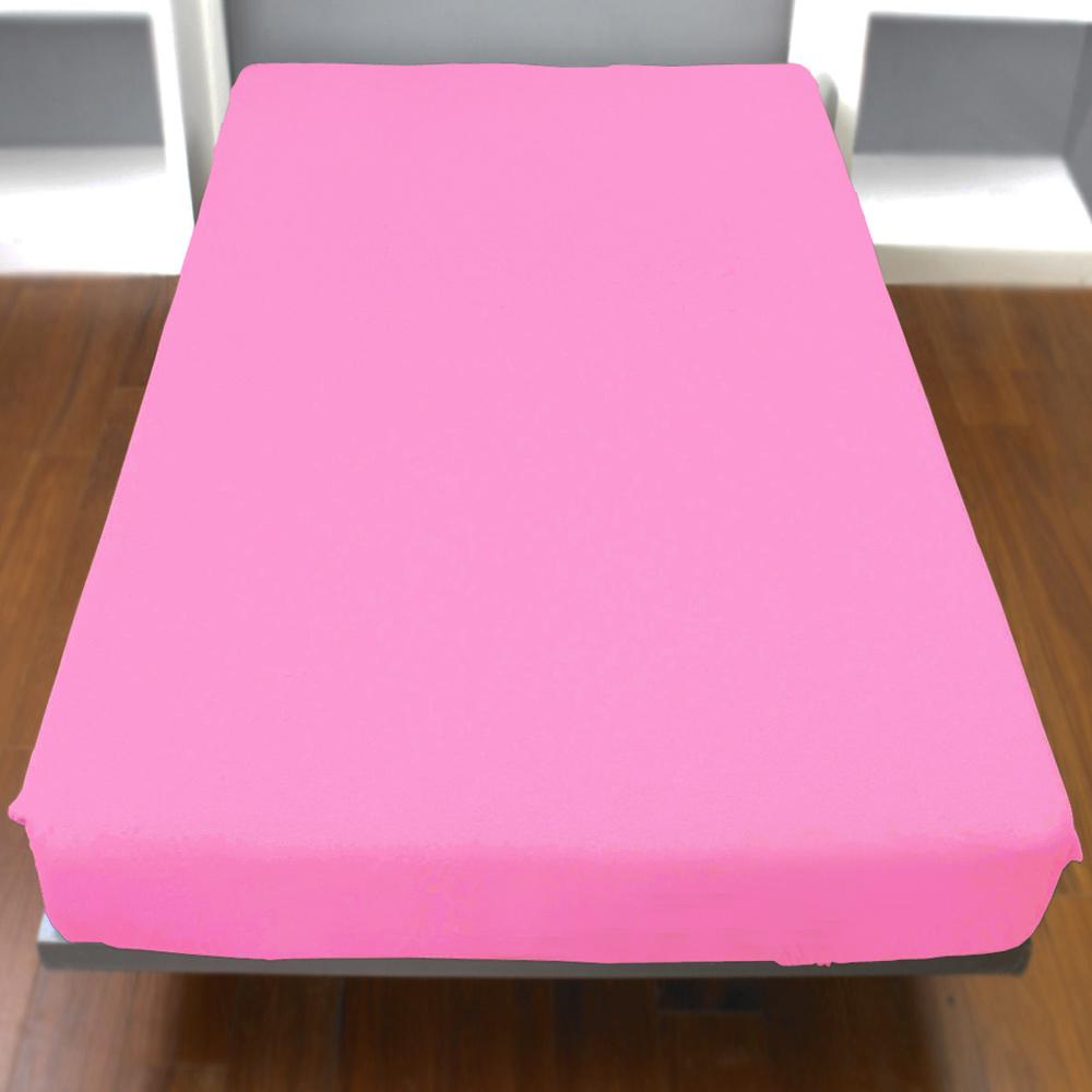 Yvonne Collection加大純棉床包-粉紅