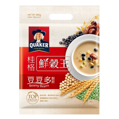桂格 桂格鮮穀王-豆豆多(38gx10入)