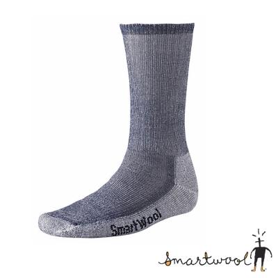 【美國 SmartWool】美麗諾羊毛 男 中高筒健行羊毛襪(2入)_海軍藍