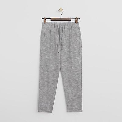 Hang Ten - 女裝 - 抽繩休閒長褲-淺灰色