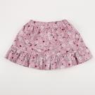愛的世界 MYBABY 小兔花園彈性鬆緊帶荷葉短裙 2-3歲
