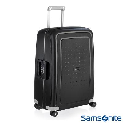 Samsonite新秀麗 28吋S'CURE四輪PP硬殼TSA扣鎖行李箱(黑)