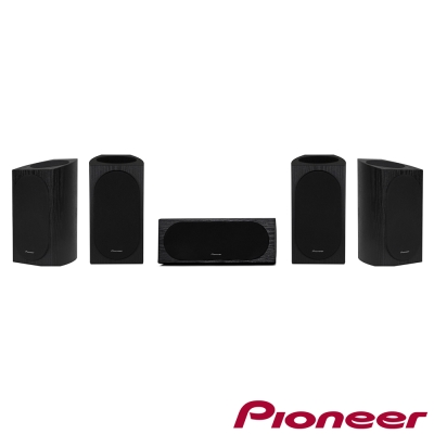 Pioneer先鋒 Andrew Jones認證 5.1.4天空聲道揚聲器組合(書架型)