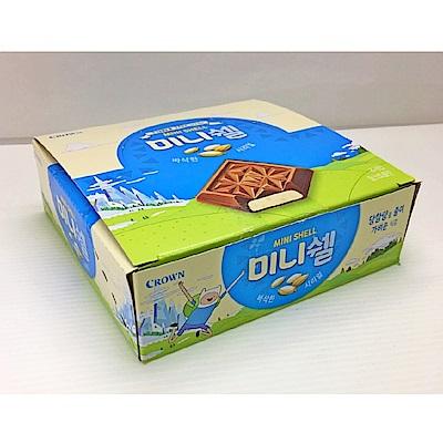 CROWN 迷你方形巧克力-牛奶(24gx16入)