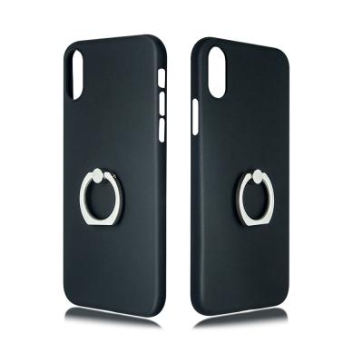 Bear Top iPhoneX 指環保護殼-5色