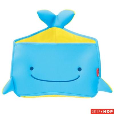 Skip Hop 藍色鯨魚浴室角落玩具收納器