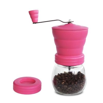 AIDIO 雲朵手搖磨豆機-粉色 送 咖啡豆匙
