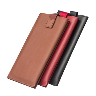 QIALINO 簡約多功能皮套錢包(適用5.2吋以下手機)