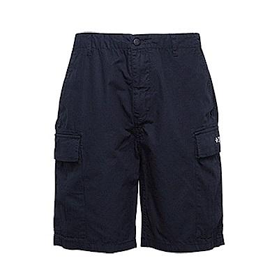 CONVERSE-男休閒短褲10005824-A02-黑