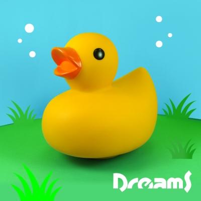 Dreams Duck 經典黃色鴨鴨LED氣氛燈