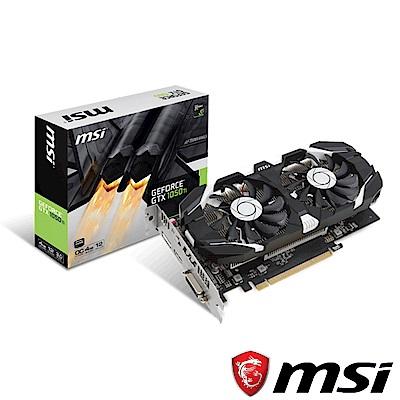 MSI微星 GeForce GTX 1050 Ti 4GT OCV1 顯示卡