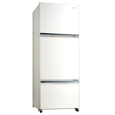 SAMPO 聲寶455公升AIE智慧節能玻璃冰箱SR-P46GDV(W5)