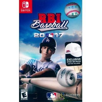 R.B.I 美國職棒大聯盟 2017 -Nintendo Switch 英文美版