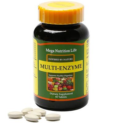 美國Mega 綜合酵素錠90顆