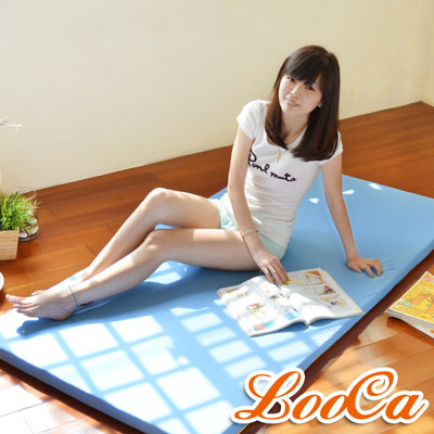 LooCa 美國抗菌5cm大青冬夏兩用床墊-雙人