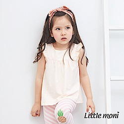 Little moni 輕甜荷葉袖上衣 (2色可選)