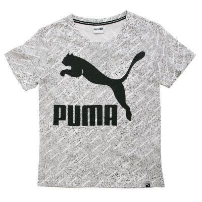 Puma-流行系列點點短袖T恤-女