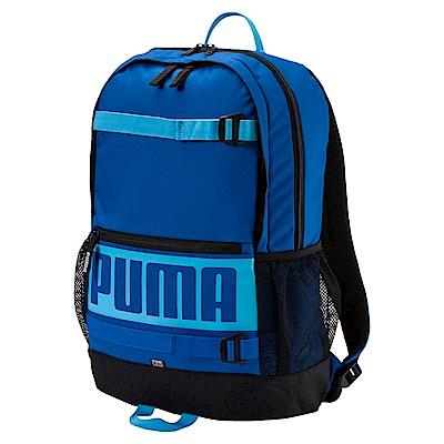 PUMA-男女PUMA Deck後背包-藍色