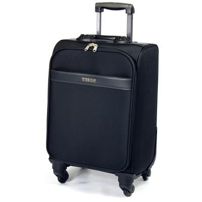 【YESON】17吋4輪360度旅行箱/行李箱(LT-1507-17-黑)
