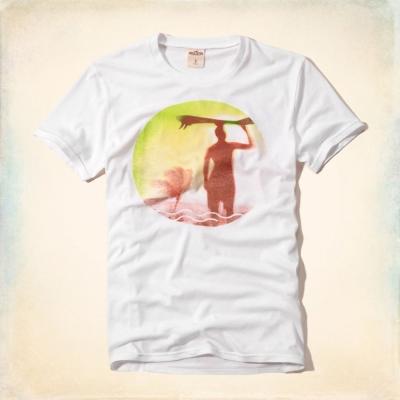 Hollister HCO 短袖 LOGO T恤 白色 0001
