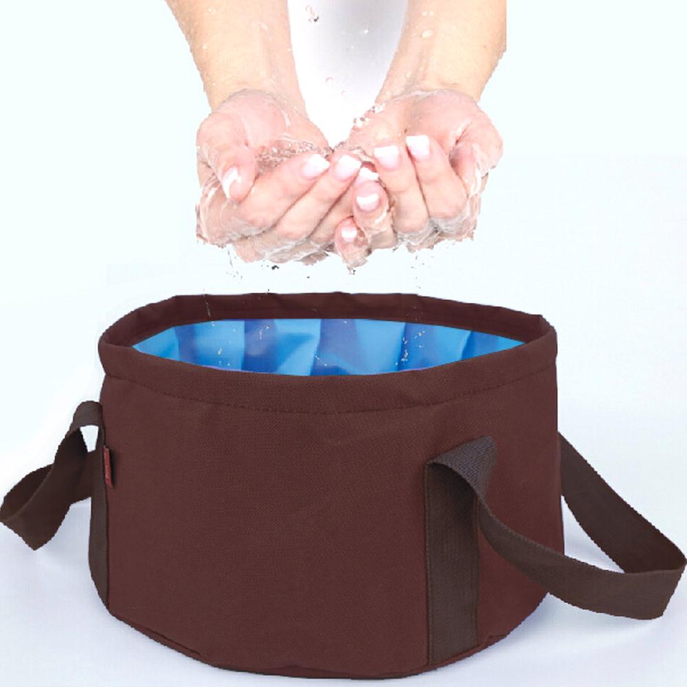 DF Queenin - 露營野餐必備大容量折疊式水盆-共2色