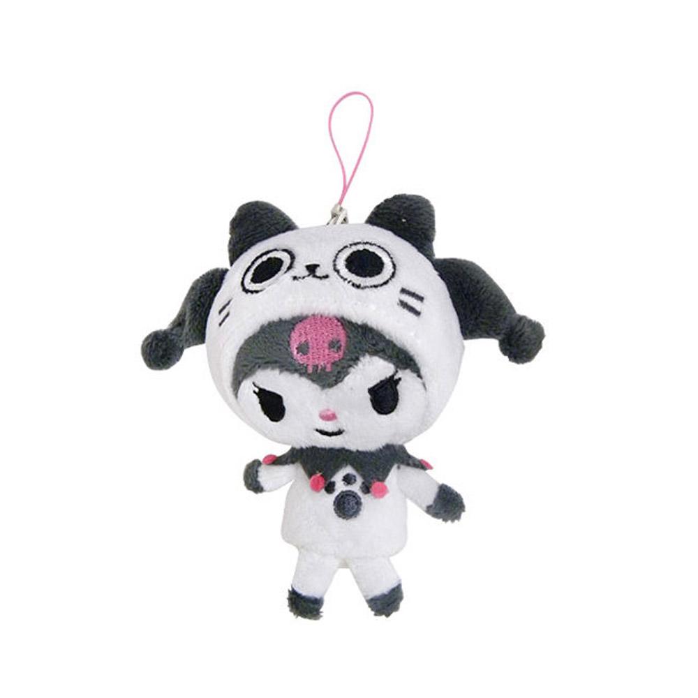《Sanrio》AIROU*KUROMI螢幕擦拭吊飾-酷洛米