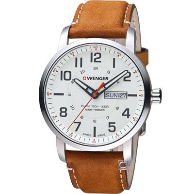 WENGER Attitude系列 野營生活時尚腕錶(01.1541.103)42mm