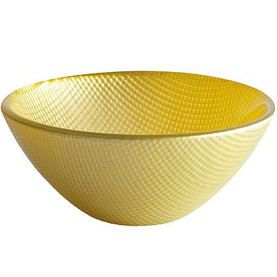 EXCELSA Diamond菱紋玻璃碗(綠11cm)