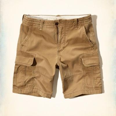 Hollister HCO 短袖 素色 短褲 卡其 210