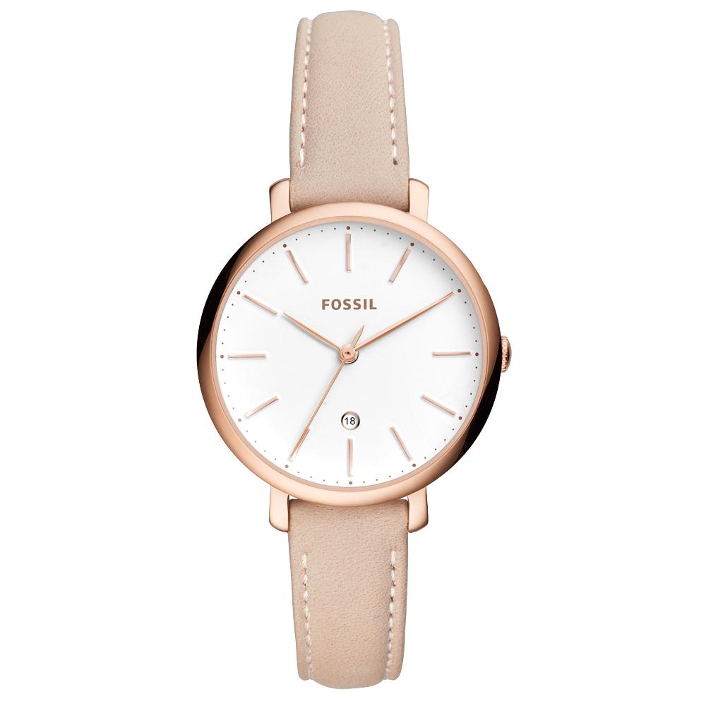 FOSSIL 非凡典華日期時尚腕錶-ES4369-36mm