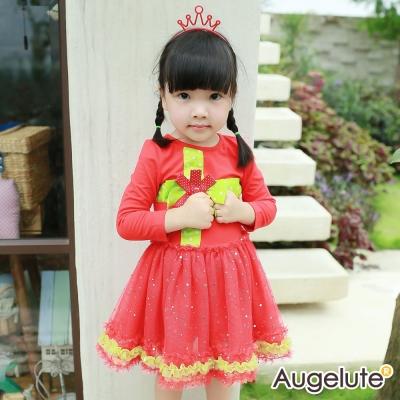 baby童衣 洋裝 立體緞帶禮物造型紗裙47072