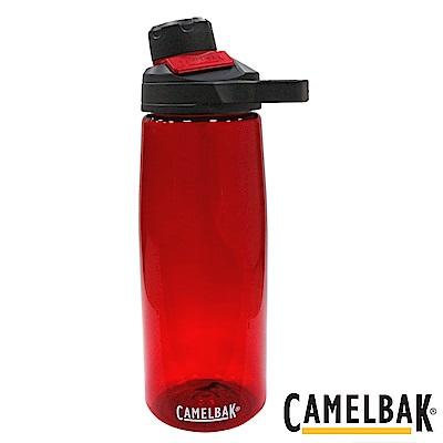 《CAMELBAK》戶外運動水瓶 石榴紅 750ml (CB1512601075)