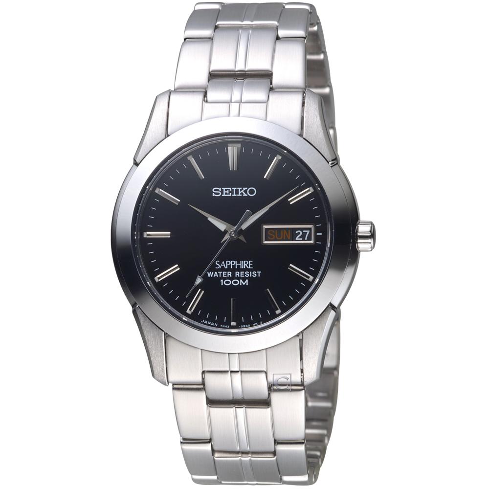 SEIKO精工經典非凡時尚腕錶(7N43-0AR0D)-38mm