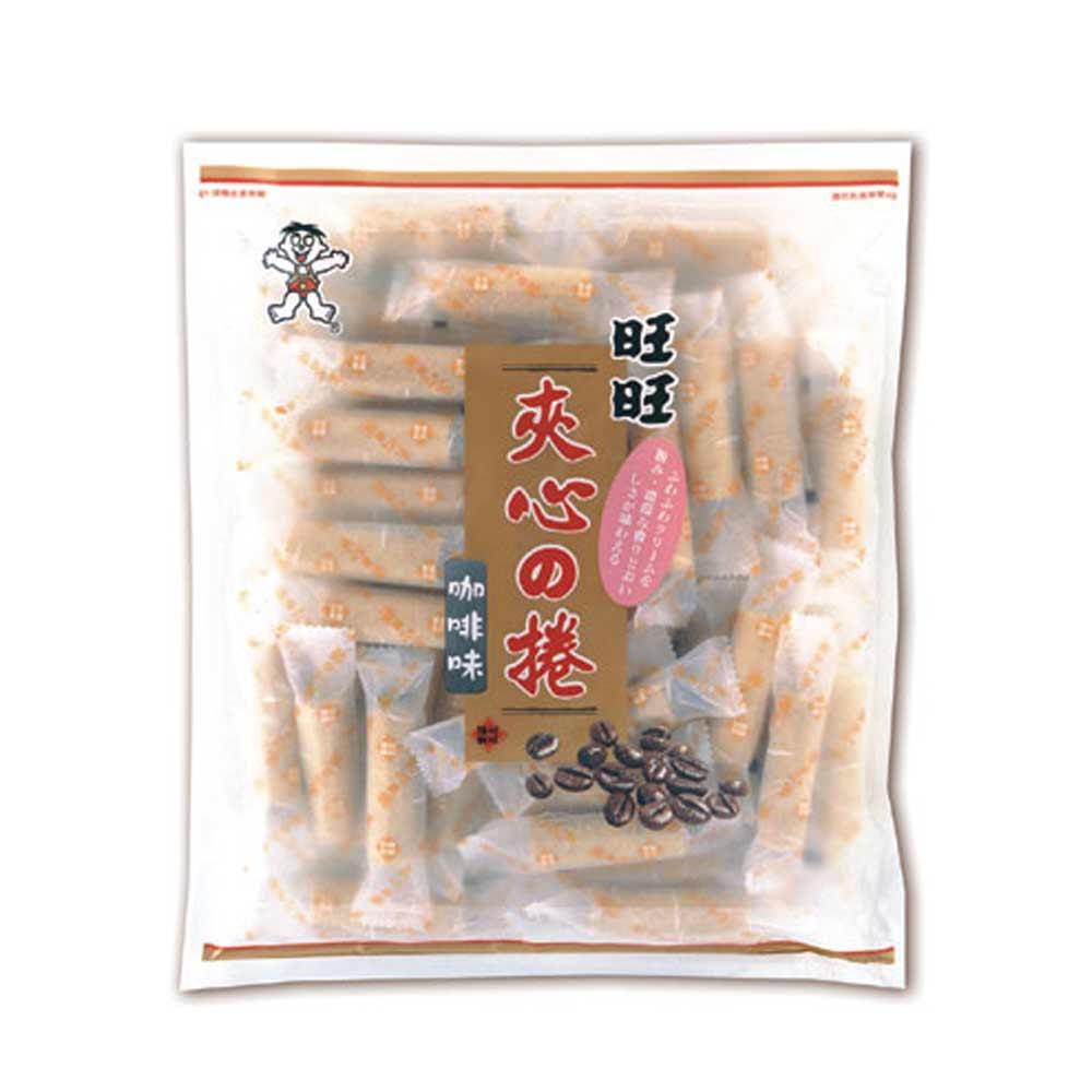 旺旺 夾心捲咖啡(4入/袋)