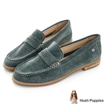 Hush Puppies Aubree 鉚釘百搭鞋-灰綠