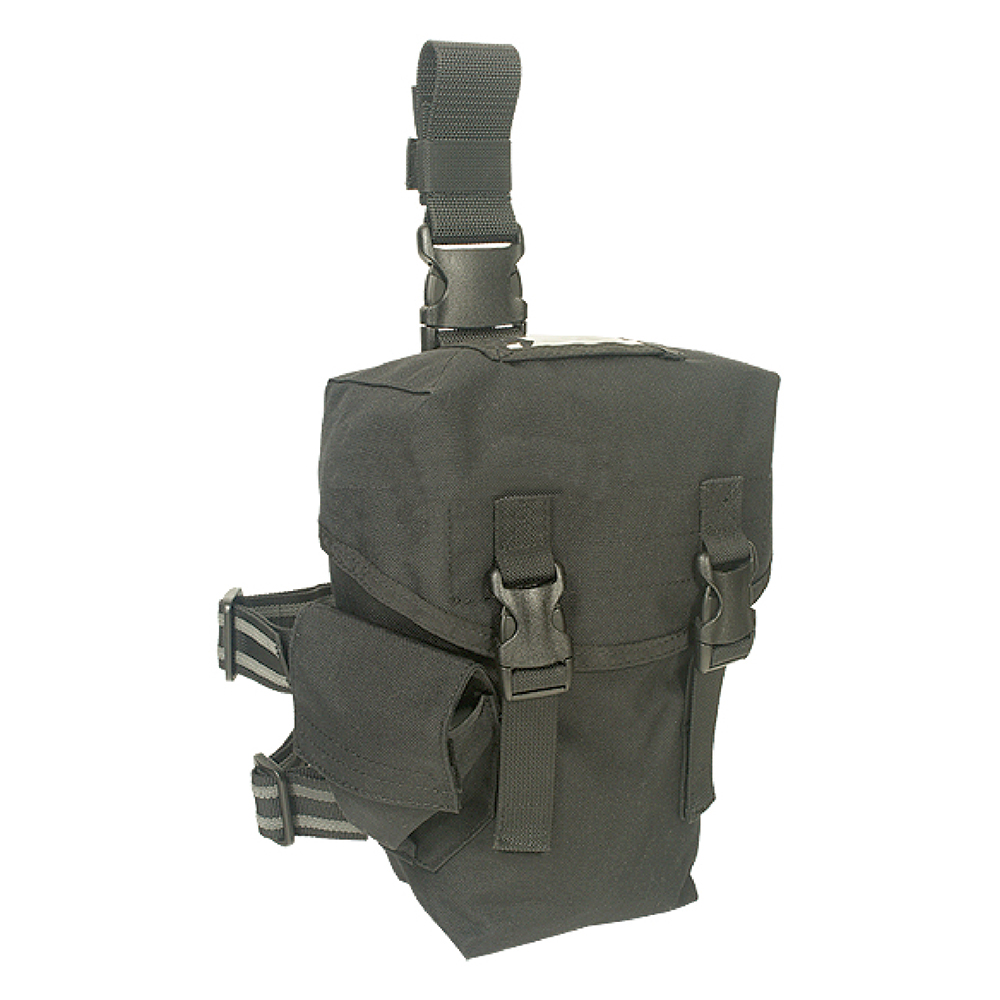 J-TECH 大型腿掛防毒面具袋