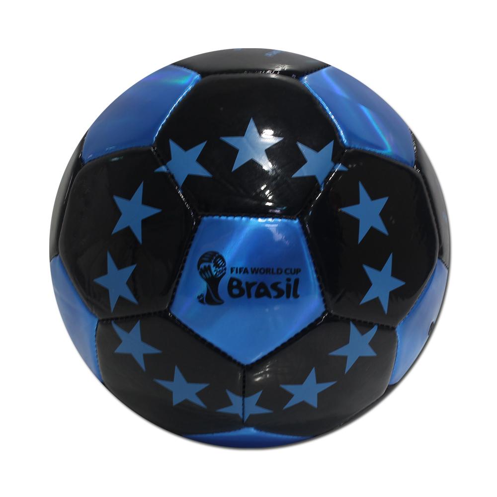 2014年世界盃足球賽紀念款炫彩足球-藍精靈