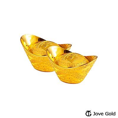 Jove Gold 叁台錢黃金元寶x2-福(共6台錢)