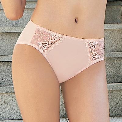 曼黛瑪璉 包覆提托經典  中腰三角萊克內褲(粉膚橘)