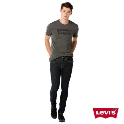 牛仔褲 男裝 519 低腰超緊身窄管 彈性布料 原色丹寧 - Levis