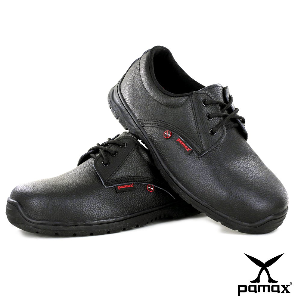 PAMAX 帕瑪斯【防穿刺】皮革製高抓地力安全鞋-PA101HP01
