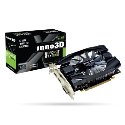 映眾顯示卡Inno3D GeForce GTX1060 6GB GDDR5 Compact