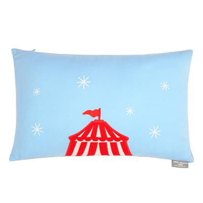 Yvonne Collection馬戲團30x45cm方形抱枕-灰藍