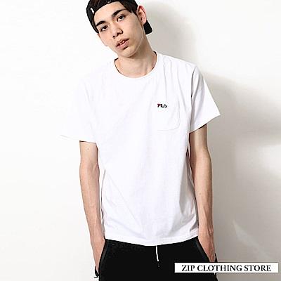 FILA LOGO短袖T恤(4色) ZIP日本男裝