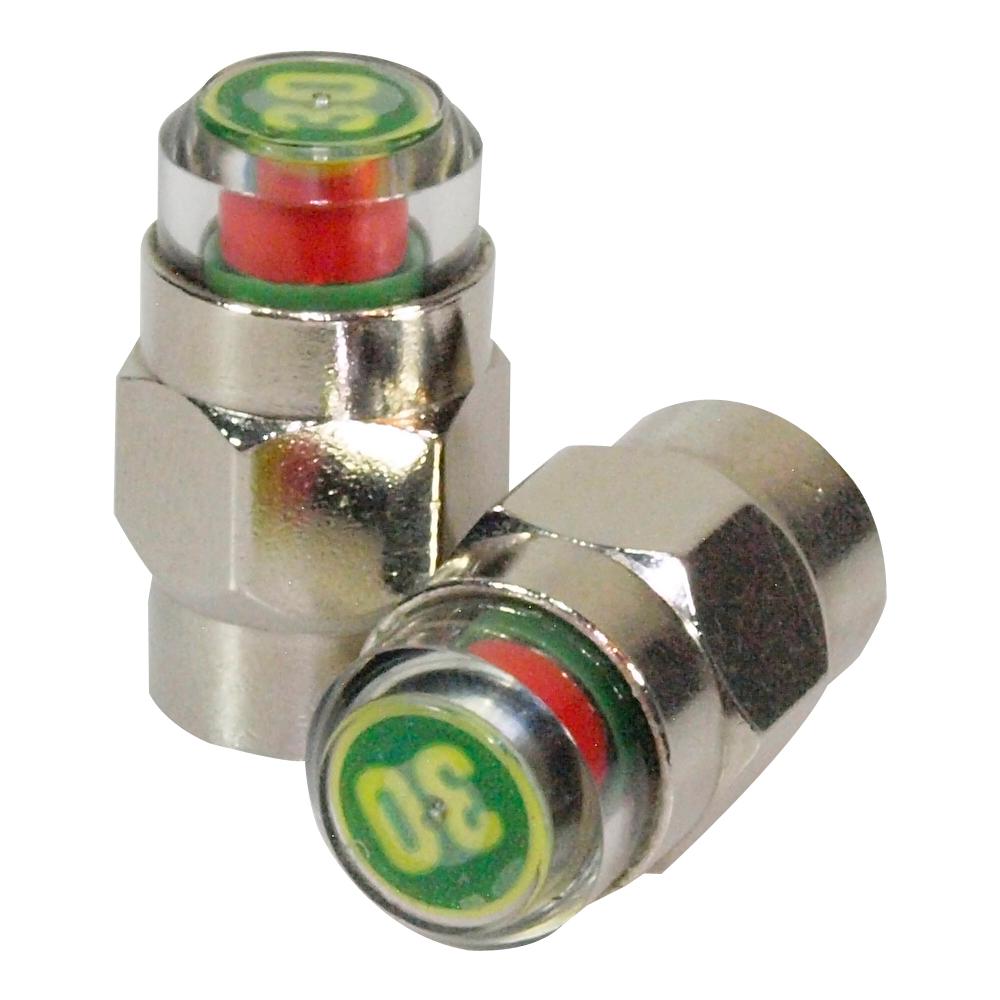 安伯特 胎壓偵測氣嘴蓋30psi(一組2入)
