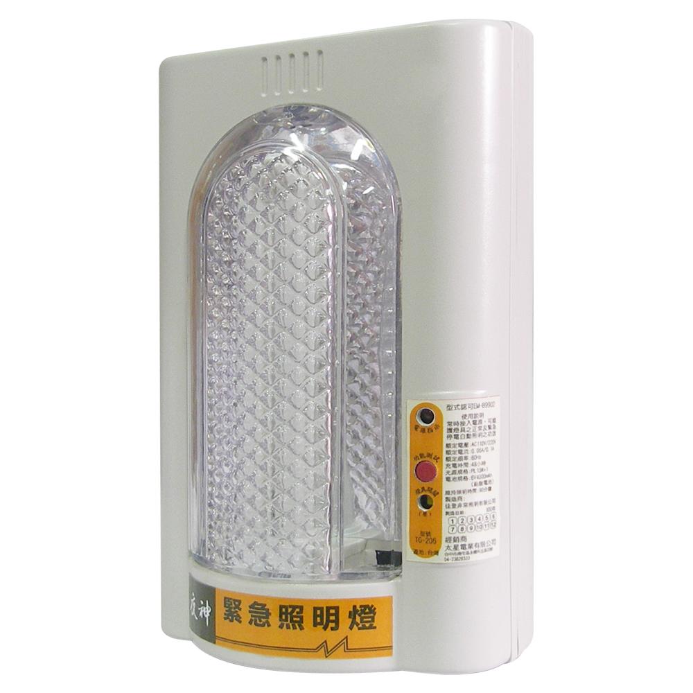 亮眼俠-PL13W緊急照明燈 IG8002個檢