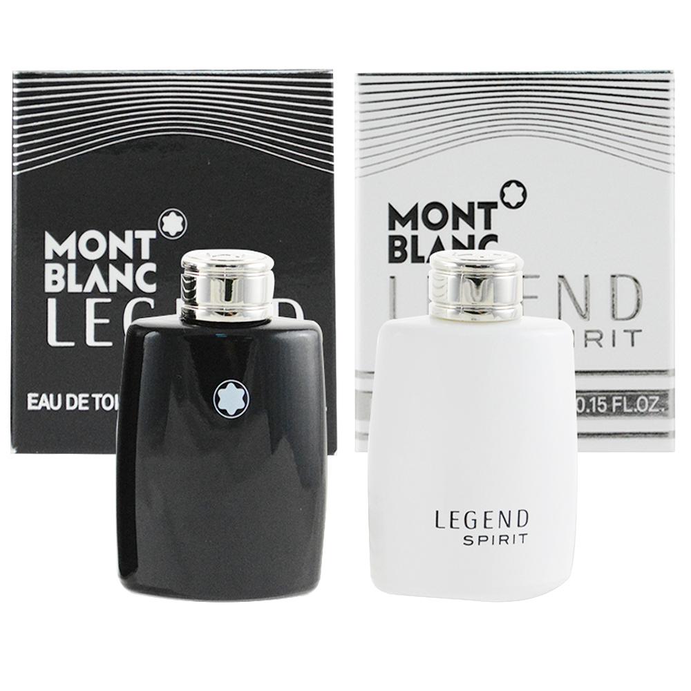 MontBlanc萬寶龍 傳奇經典4.5ml 傳奇白朗峰4.5ml 迷你香水組合