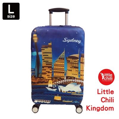 LittleChili行李箱套B003-雪梨-L